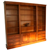 reproduction modular bookcases