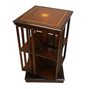 reproduction revolving bookcases