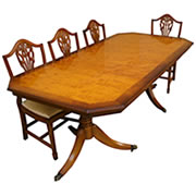 reproduction dining tables