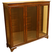reproduction display cabinets