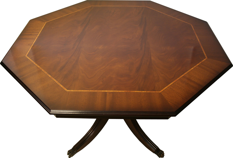 Southern Comfort Furniture New Reproduction Furniture  : OctagonalDiningBreakfastTableMahogany from www.southerncomfortfurniture.co.uk size 800 x 542 jpeg 232kB